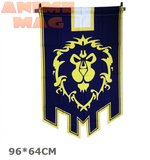 World of Warcraft cos flag