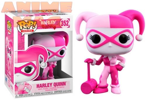 Фигурка Breast Cancer Awareness Harley Quinn FUNKO POP 352