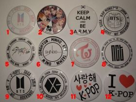 K-POP Badges