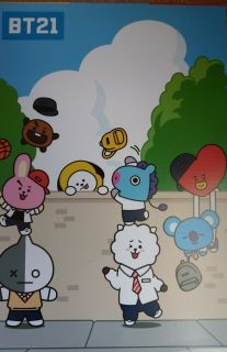 BT21 posters