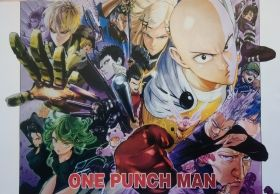 Плакати ONE PUNCH MAN