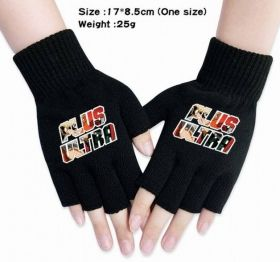 My Hero Academia half finger gloves