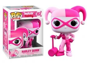 Breast Cancer Awareness Harley Quinn FUNKO POP 352