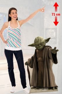 STAR WARS YODA LIFESIZE CUTOUT