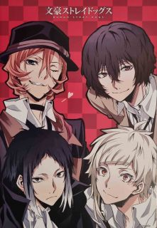 Плакати Bungou Stray Dogs